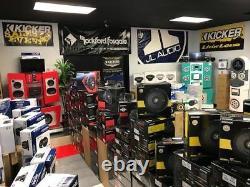 For Harley Touring Rockford Speaker Package & Adapter Install Kit Stereo Radio