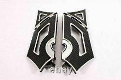 Front Foot Board Peg Footboards Rear Floorboards Harley Touring Road King Glide