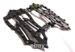 Front Footpegs Floor Boards Footboards 4 Harley Touring Road King Ultra Glide Fl