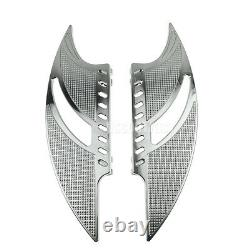 Front Rear Floorboards Foot Peg Fit For Harley Touring Glide Softail Dyna CVO