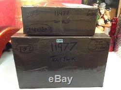 Genuine 97-18 Harley Tour Pack Pak Backrest Speakers Luggage Rack Black OEM