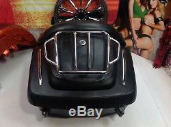Genuine Harley CVO Touring Premium Leather Tour Pack Pak Luggage Rack