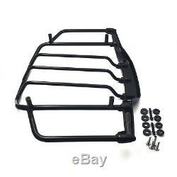 Gloss Black Tour Pak Pack Luggage Rack For Harley Davidson Touring 1993-2013