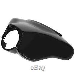 Glossy Outer Batwing Fairing For Harley Touring Road King Electra Street Glide