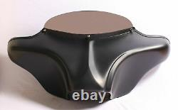 HARLEY BATWING FAIRING WINDSHIELD DOUBLE DIN 4x5HOLE TOURING ROAD KING FIBER HL