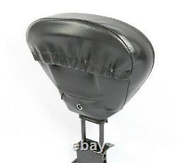 HD Detachable Backrest for Harley Davidson Touring Road King FLHR 1988-2008