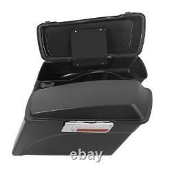 Hard Saddlebags Saddle bag For Harley Davidson Touring Softail Dyna Sportster XL