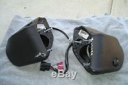 Harley Davidson 2014 Electra Glide Limited King Tour Pak Speaker Pods + speakers