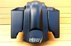 Harley Davidson 4extended Stretched Saddlebags And Rear Fender Touring 96-2013