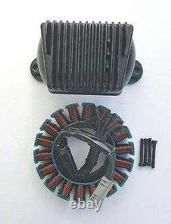 Harley Davidson 50amp Voltage Regulator & Stator 09-15 Touring Models