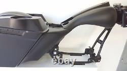 Harley Davidson Flh combo Touring Kit saddlebags tank side cover fender