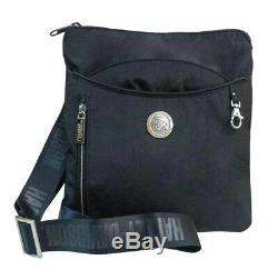 Harley-Davidson Women's World Tour Collection Crossbody Bag WT8352S-BLACK