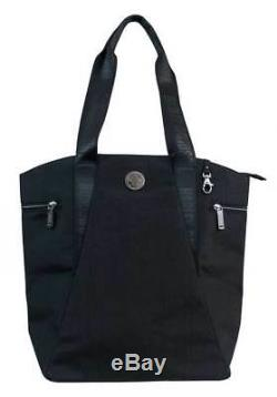 Harley-Davidson Women's World Tour Collection Vertical Tote, Black WT8349S-BLACK