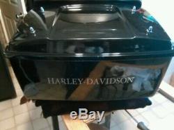 Harley Davidson tour pak with back rest