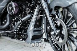 Harley-davidson Aggressor Series Touring Chin Spoiler / Radiator Cover 10-16
