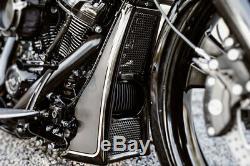 Harley-davidson Bagger M8 Touring Radiator Cover Chin Spoiler 17-20 Flh