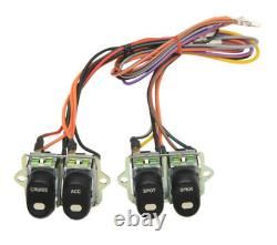Inner Fairing Switch Cap Button Kit Set Wiring Harley Touring Dresser 96-13 OE