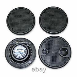J&M Rokker XT 5.25 Rear Pod Speakers Speaker Kit Upgrade 06-13 Harley Touring