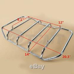 King Tour Pak Pack Trunk Fit For Harley Touring Road King Electra Glide 97-08 US
