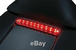 Kuryakyn Black Tour-Pak Pack Rear LED Lid Light Plug n Play Harley 14-20 Touring