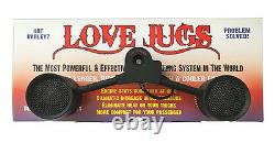 Love Jugs Mighty Mite Harley Cooling Fans Touring, Softtail, Dyna, TriGlide Free
