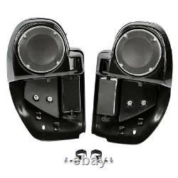 Lower Vented Fairing 6.5 Speaker Box Pod Fit For Harley Touring Road King 14-21