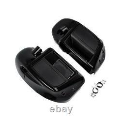 Lower Vented Fairing 6.5 Speaker Box Pod For Harley Touring Electra Glide 14-20