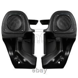 Lower Vented Fairing Speaker Glove Kit For Harley 83-13 Touring Road King FLHR