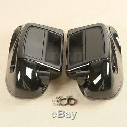 Lower Vented Fairing With 6.5 Speaker Box Pod For Harley Touring Glide 2014-2019