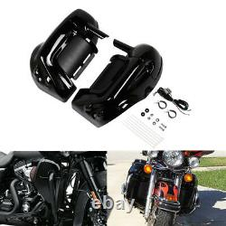 Lower Vented Fairing WithSpeaker Kit For Harley Touring Electra Road Glide 83-13