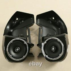 Lower Vented Fairings with 6.5 Speaker For Harley Touring Road Street Glide 83-13