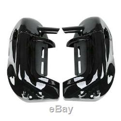 Lower Vented Leg Fairing 6.5'' Speakers Grills For Harley Touring Glide 83-13 US