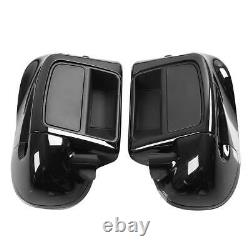 Lower Vented Leg Fairing Glove Box Fit For Harley Touring Road King FLHR 14-21