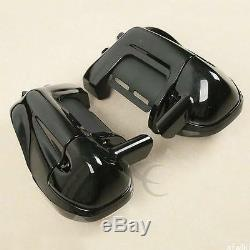 Lower Vented Leg Fairing with 6.5 Speaker Box Pod Fit For Harley Touring Glide