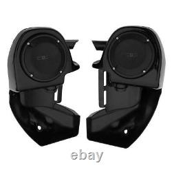 Lower Vented Leg Fairing with Speakers Grills For Harley Touring Road King 83-2013