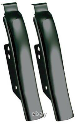 Mid USA 26313 V-Factor Black Steel Saddlebag Filler Panels 93-08 Harley Touring