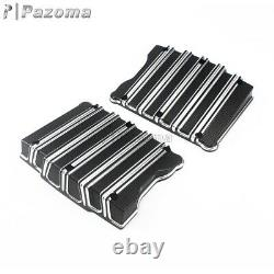 Motorcycle CNC Aluminum Rocker Box Top Cover For Harley Touring Twim Cam 1999-17