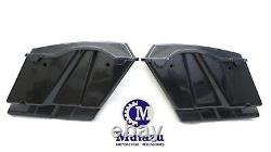 Mutazu 4.5 Unpainted Extended Hard Saddle bags Saddlebags for Harley Touring