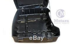 Mutazu Complete Black Premium Hardware Razor Tour Pak for Harley Touring Models