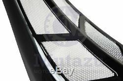 Mutazu Custom Vivid Black Chin Spoiler Scoop For Harley Touring Models FLH FLT