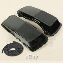 New 6x9 Saddlebag Speaker Lids For Harley Davidson Touring 1993-2013 Saddlebags
