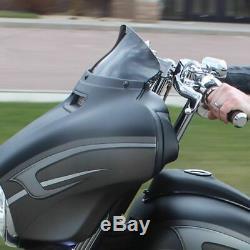 New Klock Werks 5 Black Flare Windshield Batwing Bagger Harley Touring 14-2020