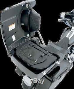 New Saddlemen Tour Pack Black Luggage Bag 94-13 Harley Davidson FLH FLHT FLT
