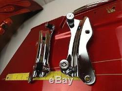 OEM 14-19 Harley Sissy Bar Passenger Backrest Tour Pack Pak Docking Kit $169