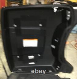 OEM Harley Tour Pak Pack Luggage Box 2009-2013 FLTHCU Police Vivid Black