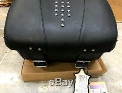 Oem Harley leather Heritage, Road King tour pak pack 53151-00 Softail Deluxe