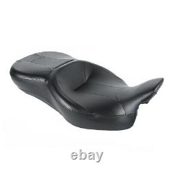 Passenger Rider Seat Fit For Harley 09-20 Touring Electra Tri Street Glide FLHR
