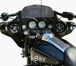 Paul Yaffe Black 12 Monkey Bar Apes Handlebars Harley Touring Bagger Dresser