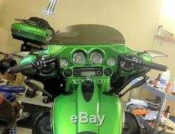 Paul Yaffe Black 8 Monkey Bagger Bar Handlebar Ape Hanger Harley Batwing Touring
