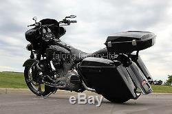 Razor Tour Pack Metal Bracket Hinge Latch Tether For HD Harley Davidson Touring